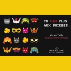 """2015 Fabien Jouves """"Tu Vin Plus Aux Soirees…"""""""
