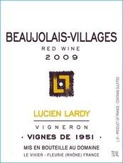 """2016 Lucien Lardy Beaujolais Villages """"Vignes de 1951"""""""