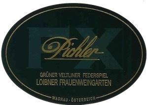 2012 FX Pichler Gruner Veltliner Federspiel Loibner Frauenweingarten