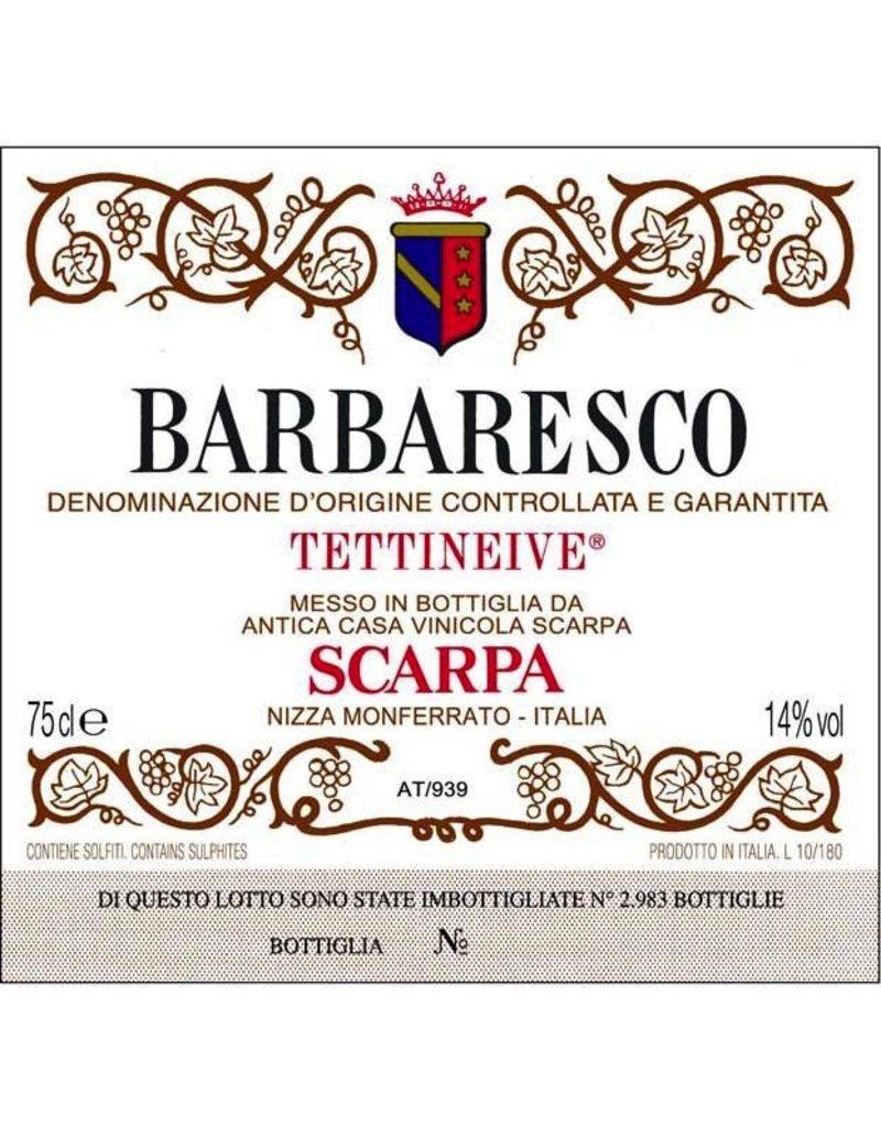 "2001 Scarpa Barbaresco ""Tettineive"""
