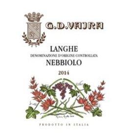 2014 G.D. Vajra Langhe Nebbiolo