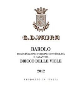 2012 G.D. Vajra Barolo Bricco delle Viole