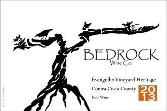 2015 Bedrock Evanghelo Vineyard Heritage Contra Costa County