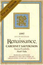 2002 Renaissance Cabernet Sauvignon