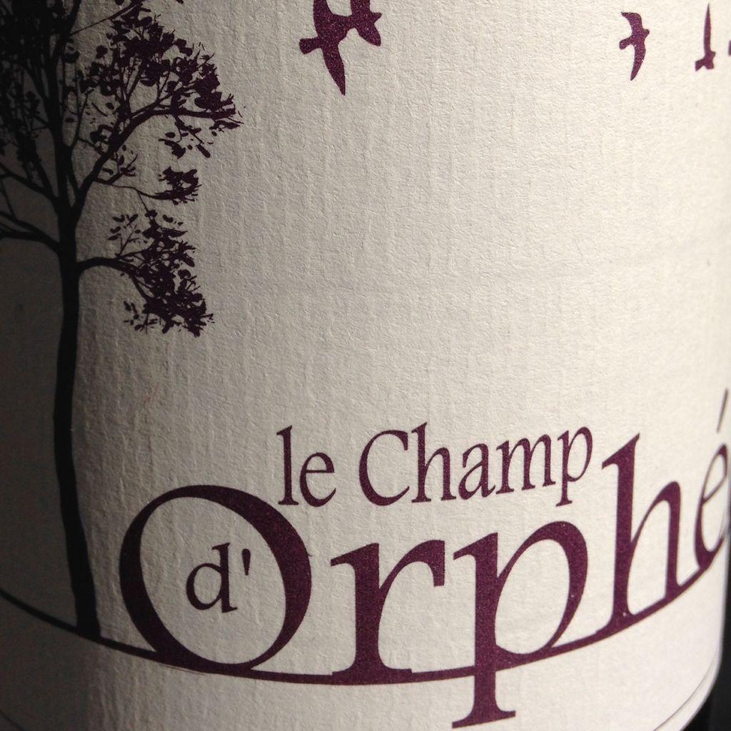 2014 Le Champ d'Orphee Cotes du Tarn Braucol