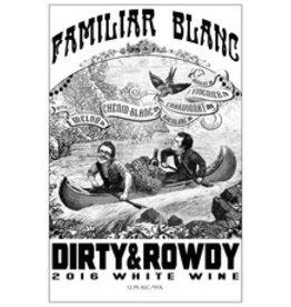 2016 Dirty & Rowdy Familiar Blanc