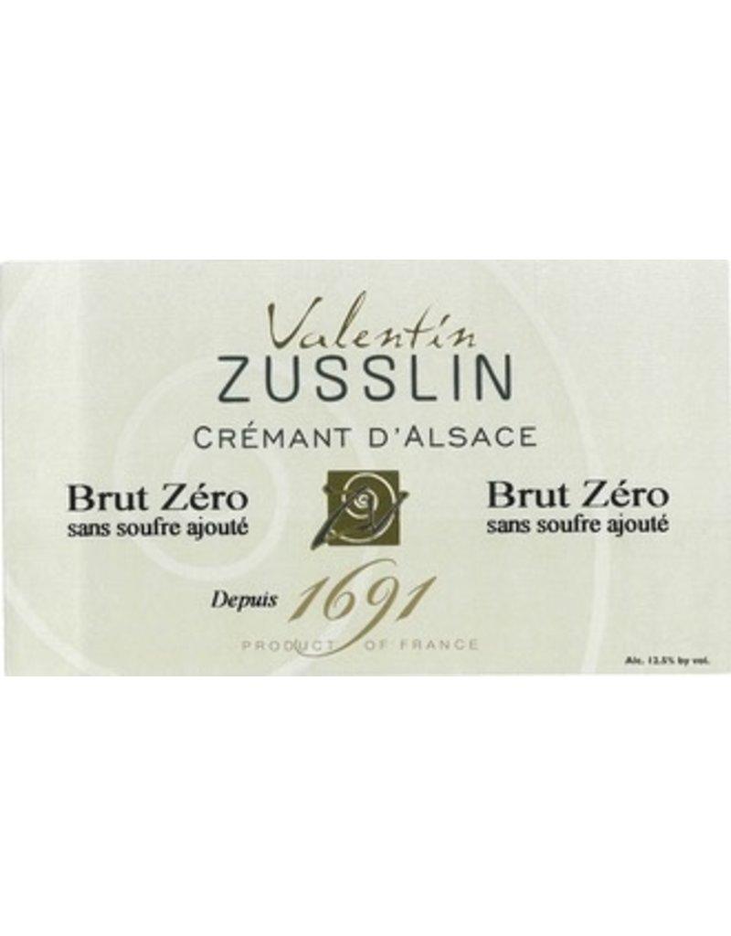 Valentin Zusslin Cremant D'Alsace Brut Zero