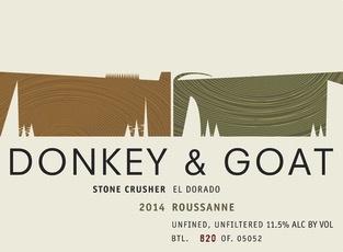 2015 Donkey & Goat Stone Crusher Roussane