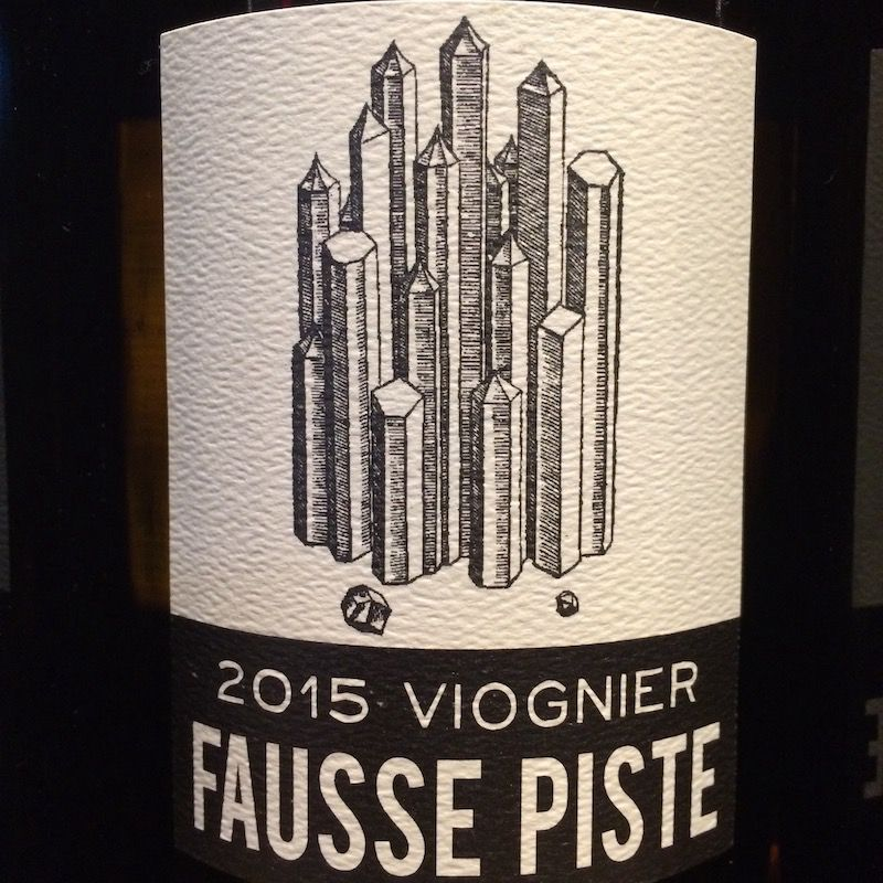 """2015 Fausse Piste Viognier """"The Mineral Selection"""" Columbia Valley"""