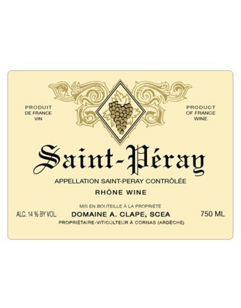 2016 A. Clape Saint Peray