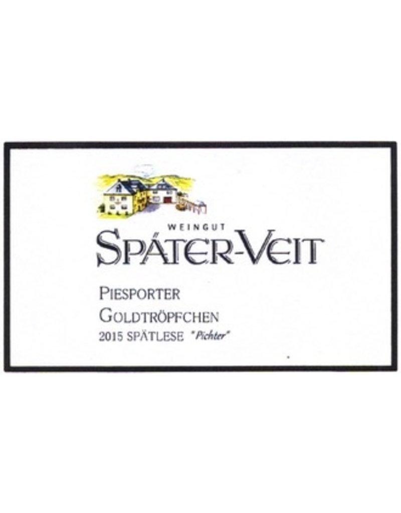2012 Spater Veit Piesporter Goldtropfchen Riesling Spatlese Feinherb