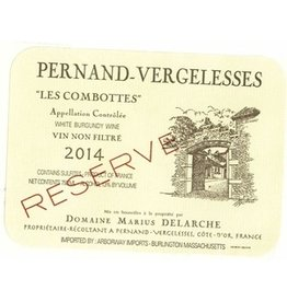 "2015 Marius Delarche Pernand Vergelesses Blanc ""Les Combottes"""