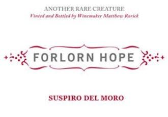 """2016 Forlorn Hope """"Suspiro del Moro"""" Alvarelhao"""