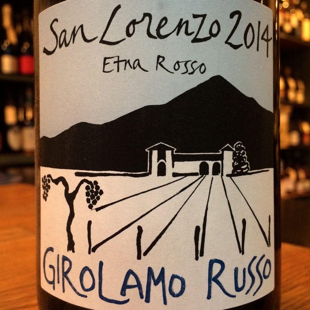 "2014 Girolamo Russo Etna Rosso ""San Lorenzo"""