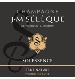 J-M Seleque Champagne Brut Nature Solessence