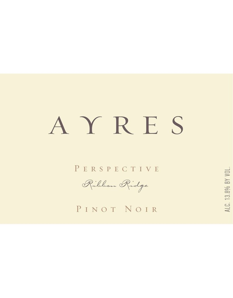 "2015 Ayres Ribbon Ridge Pinot Noir ""Perspective"""