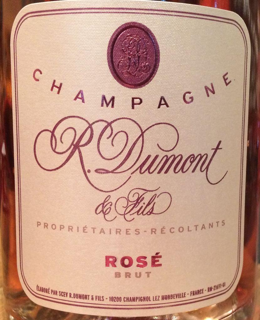 R. Dumont Champagne Rose