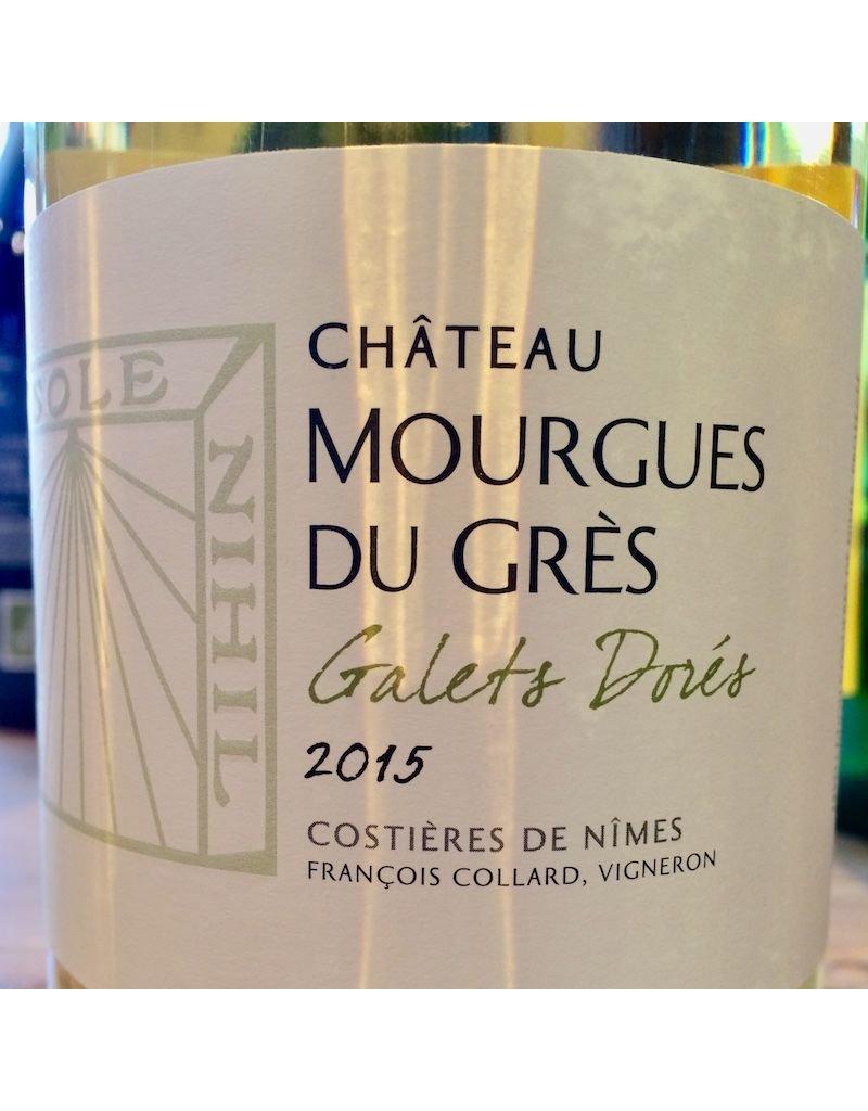 "2015 Mourgues du Gres Costieres de Nimes ""Galets Dores"""