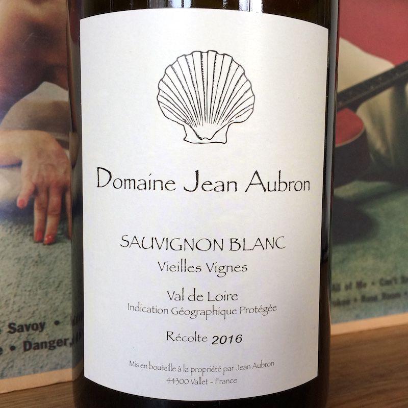 2016 Jean Pascal Aubron Sauvignon Blanc