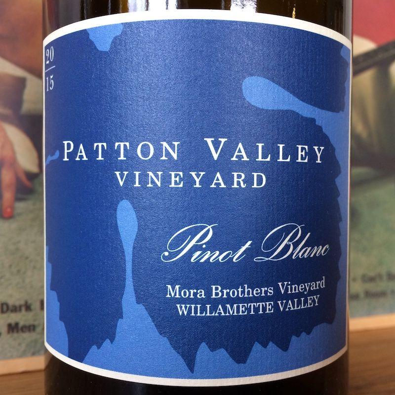 2015 Patton Valley Vineyard Willamette Valley Pinot Blanc
