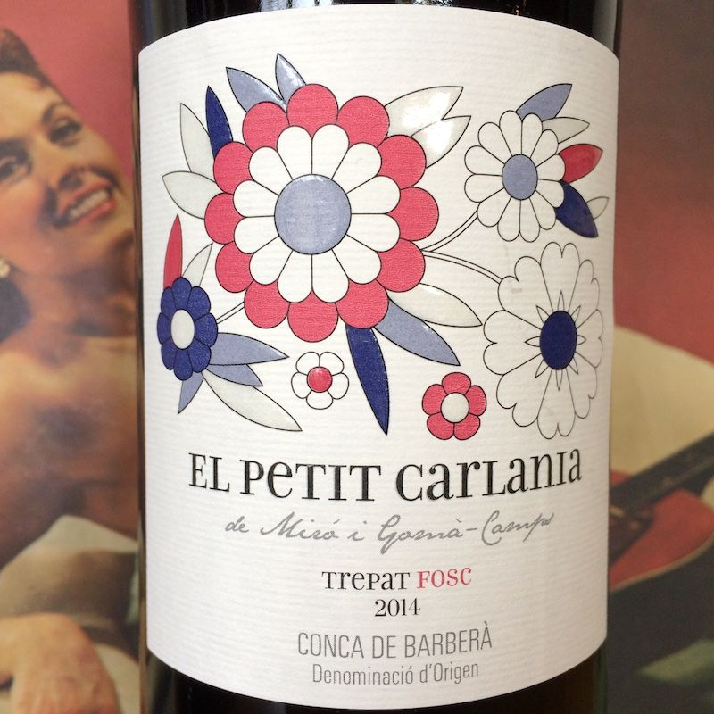 2013 El Petit Carlania Conca de Barbera