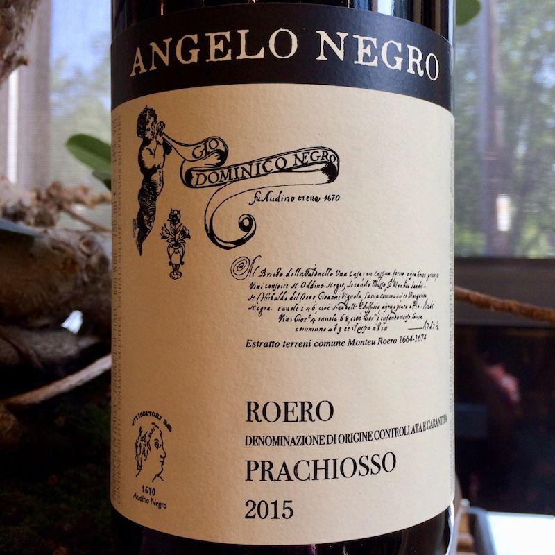 "2015 Angelo Negro Roera ""Prachiosso"""