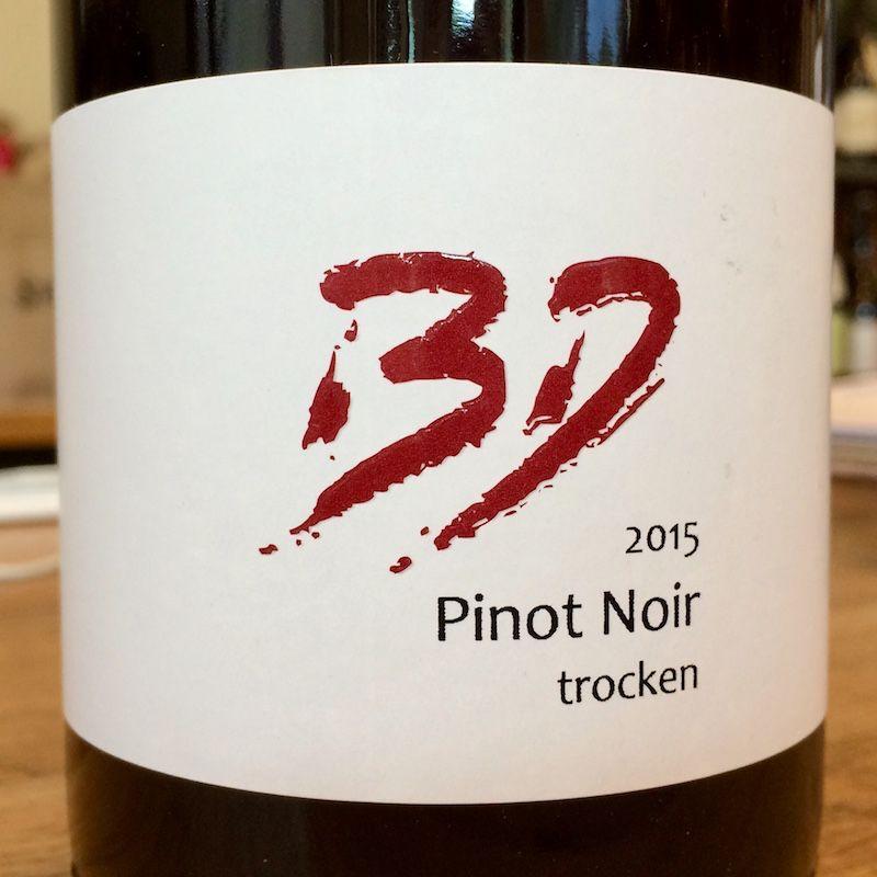 2015 Borell Diehl Pinot Noir Trocken