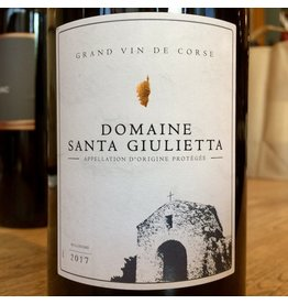 2017 Domaine Santa Giulietta Corse Rouge