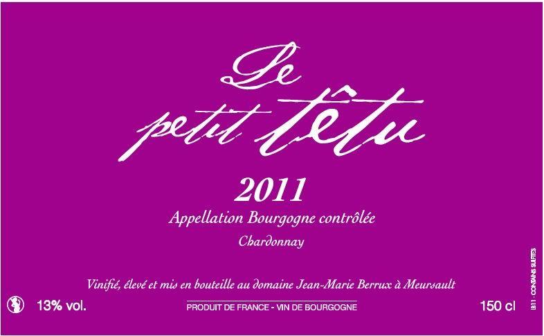 2016 Jean-Marie Berrux Le Petit Tetu