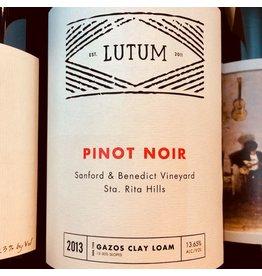 2013 Lutum Sanford & Benedict Vineyard Pinot Noir