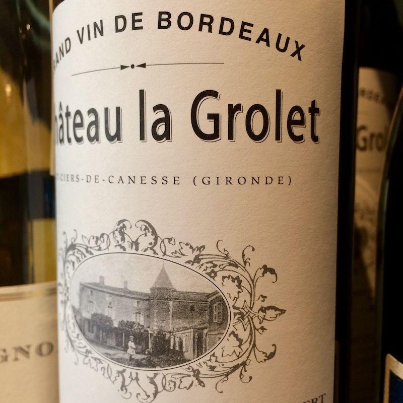 2016 Chateau La Grolet Cotes de Bourg