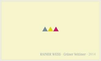 2017 Rainer Wess Gruner Veltliner