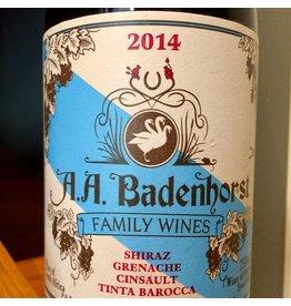 South Africa 2014 A.A. Badenhorst Family Red