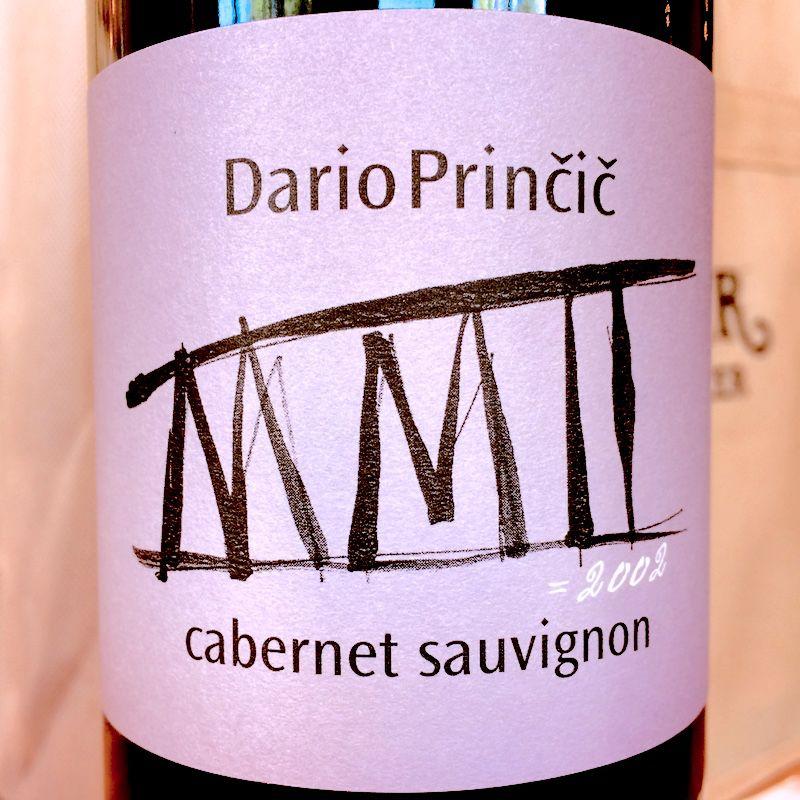 2002 Dario Princic Cabernet Sauvignon Venezia Giulia