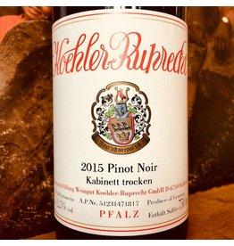 2015 Koehler Ruprecht Pfalz Pinot Noir Kabinett Trocken
