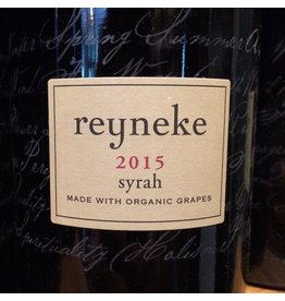 South Africa 2015 Reyneke Syrah Stellenbosch
