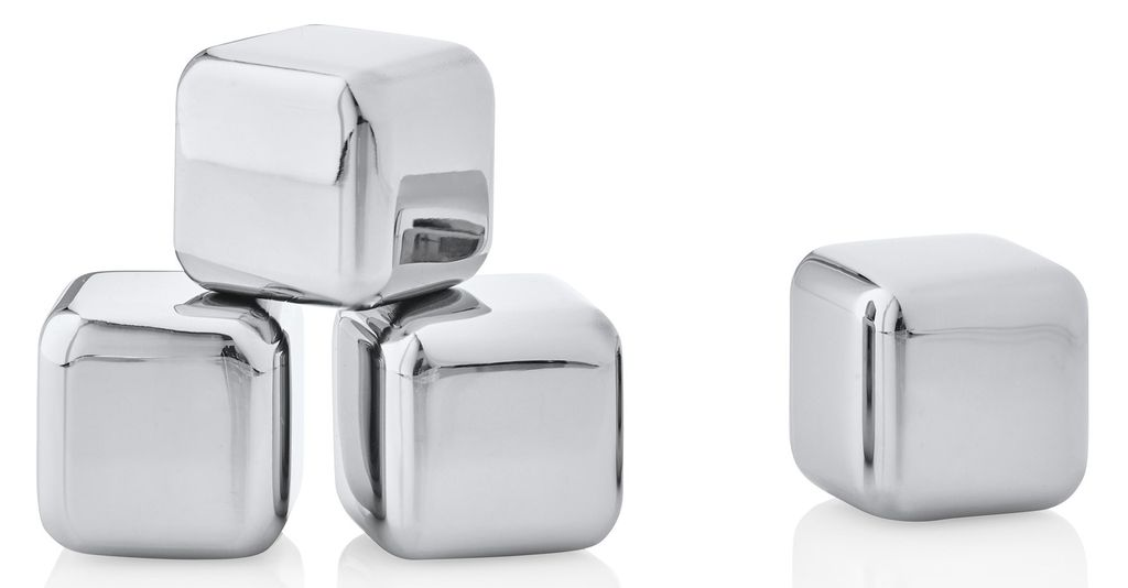 Blomus Stainless Ice Cubes Set of 4