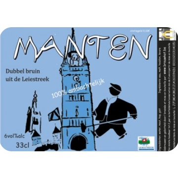 Brouwkot 'Manten' 750ml
