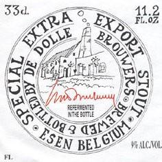 De Dolle 'Extra Special Export Stout' 11.2oz Sgl