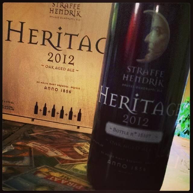 Straffe Hendrik/De Halve Maan 'Heritage 2013' 750ml