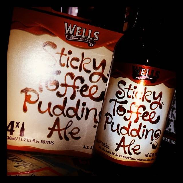 Wells & Young's 'Sticky Toffee Pudding' 12oz Sgl