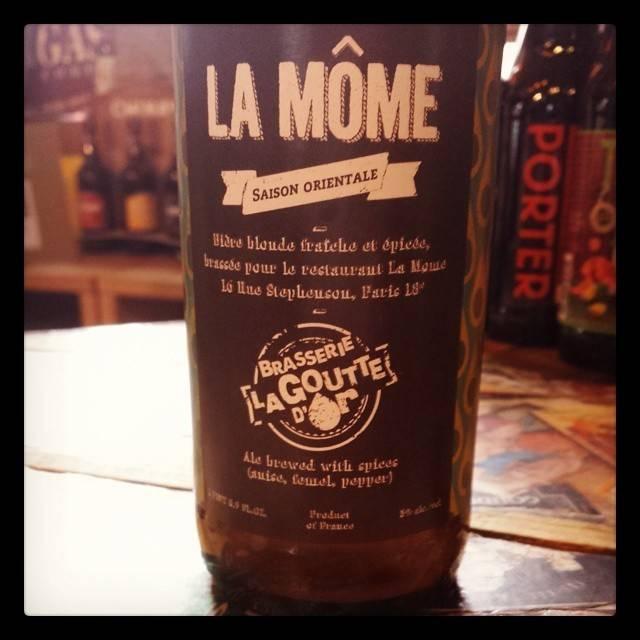 De La Goutte d'Or 'La Mome' 500ml