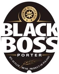 Witnica 'Black Boss' Porter 500ml