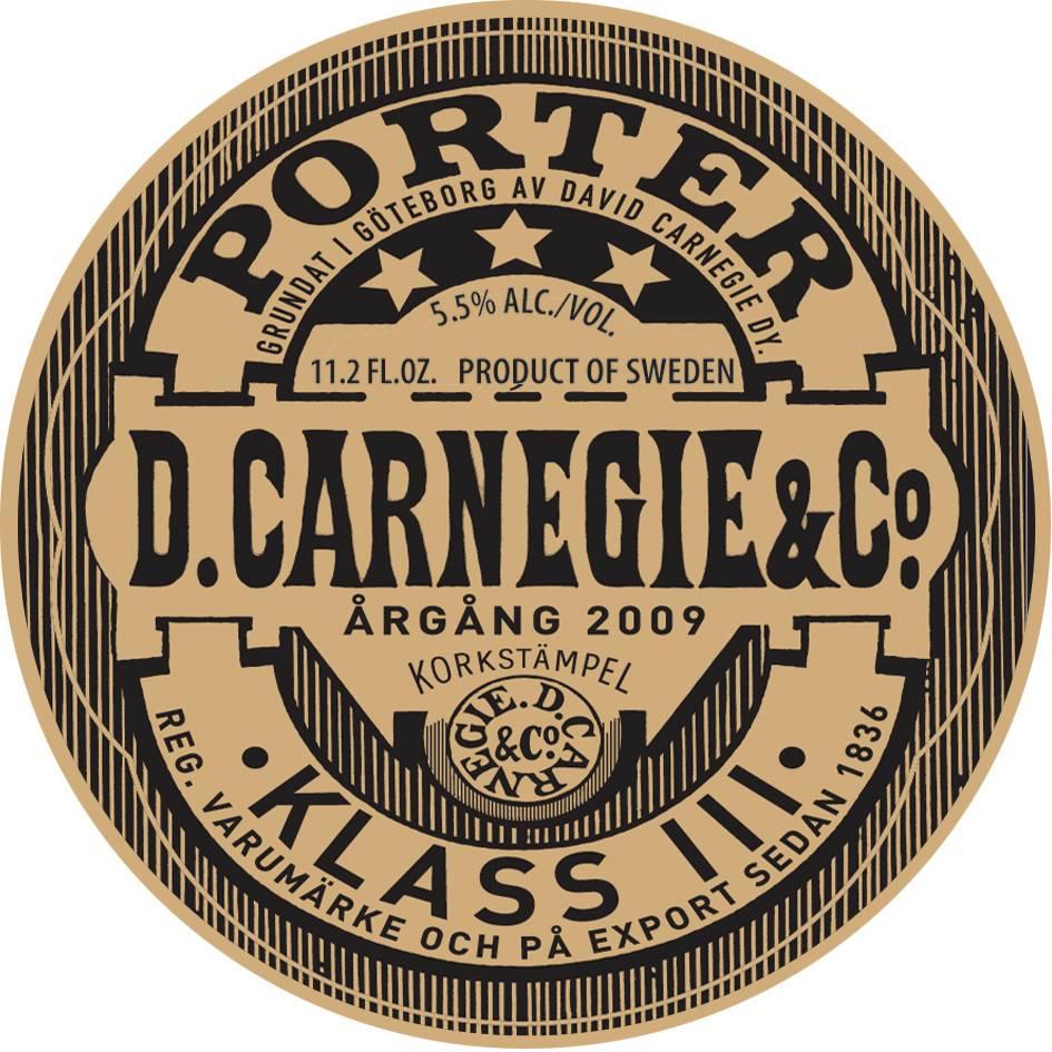 Carlsberg Sverige Carlsbeg 'Carnegie' 11.2oz Sgl