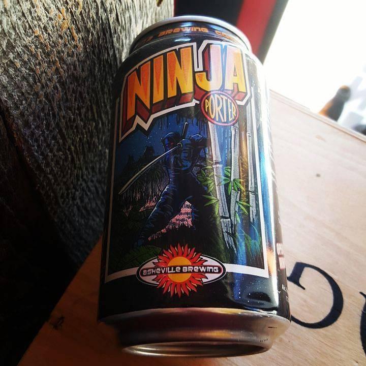 Asheville Brewing 'Ninja Porter' 12oz Sgl (Can)