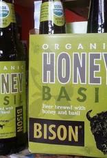 Bison 'Organic Honey Basil' 12oz Sgl