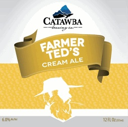 Catawba Farmer Ted's Cream Ale Case (12oz - Box of 24)