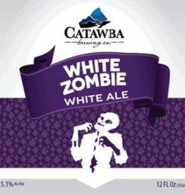 Catawba White Zombie Case (12oz - Box of 24)