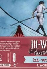 Hi-Wire 'Lager' 12oz Sgl