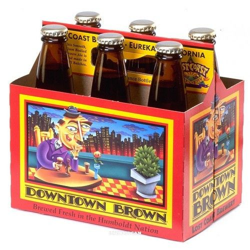 Lost Coast Lost Coast Downtown Brown Case (12oz - Box of 24)